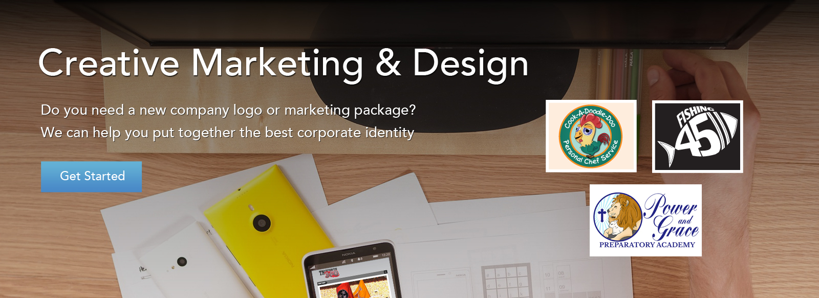 marketing and graphic