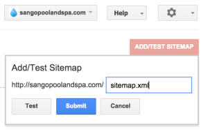 Google Search Console Sitemap Submission